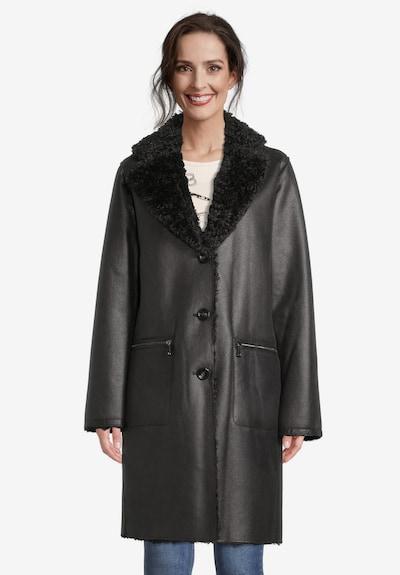 GIL BRET Wintermantel in schwarz, Modelansicht