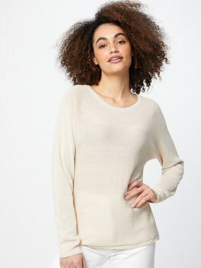 Sublevel Sweter w kolorze beżowym: Widok z przodu