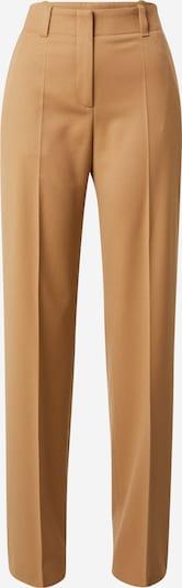 Kelnės su kantu 'Hulana' iš HUGO, spalva – ruda (konjako), Prekių apžvalga