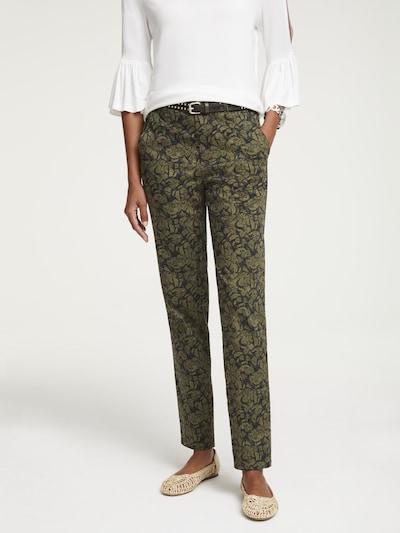 """""""Chino"""" stiliaus kelnės iš heine , spalva - alyvuogių spalva, Modelio vaizdas"""