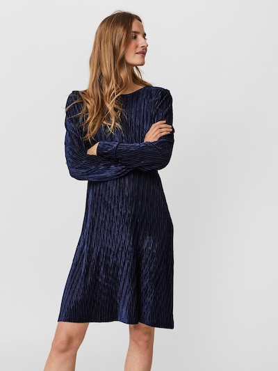 VERO MODA Kleid 'Dania' in dunkelblau, Modelansicht