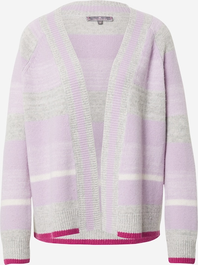 LIEBLINGSSTÜCK Knit cardigan 'GittiL' in grey mottled / purple / fuchsia, Item view