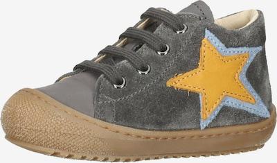 NATURINO Sneaker in gelb / anthrazit, Produktansicht