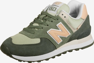 new balance Sneaker in beige / mint / dunkelgrün / pfirsich / weiß, Produktansicht