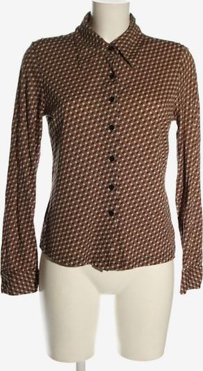 Castro Langarm-Bluse in L in rot / schwarz / wollweiß, Produktansicht
