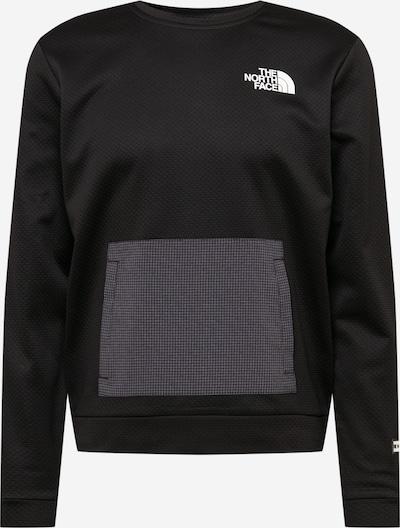 THE NORTH FACE Sweatshirt in grau / schwarz / weiß, Produktansicht