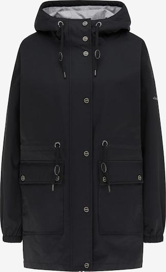 DreiMaster Maritim Regenparka in schwarz, Produktansicht