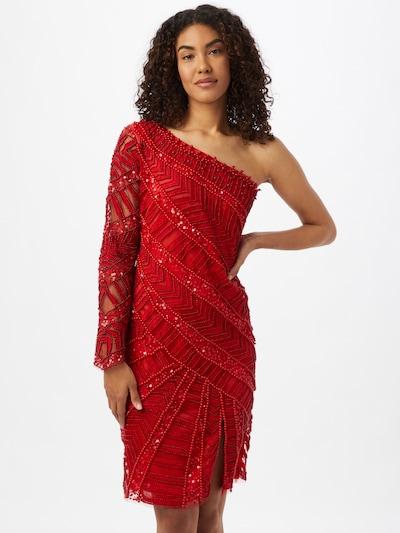 A STAR IS BORN Kleid in rot, Modelansicht