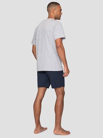 Threadbare Long Pajamas 'Jonas PJ Set' in Grey