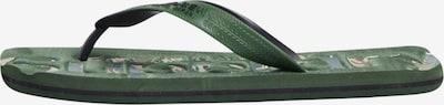 Superdry Teenslippers in de kleur Groen, Productweergave