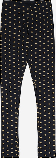 NAME IT Leggings 'VIVIAN' in dunkelblau / goldgelb, Produktansicht