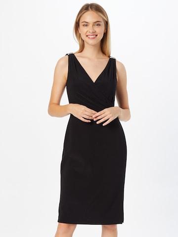 Lauren Ralph Lauren Fodralklänning 'BIRDIE' i svart