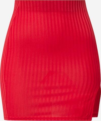 Fustă Public Desire pe roșu, Vizualizare produs