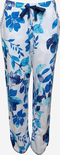 Cyberjammies Pantalon de pyjama 'Libby' en bleu / bleu foncé / blanc, Vue avec produit