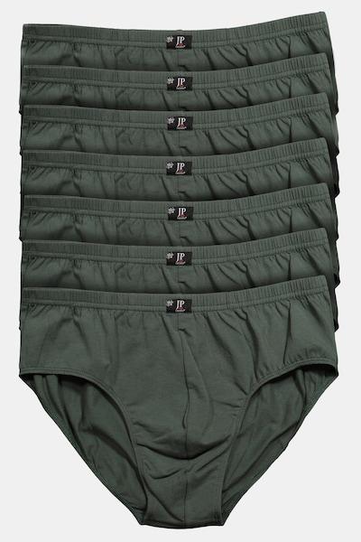 JP1880 JP 1880 Herren große Größen bis 16   Pants 7er Pack  Unterhosen, Schlüpfer, Slips, Hipster, Boxer-Shorts   Elastikbund    711244 in tanne, Produktansicht
