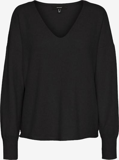 VERO MODA Pullover in schwarzmeliert, Produktansicht