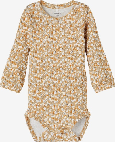 NAME IT Romper/Bodysuit 'Kaisa' in Light brown / Curry / White, Item view