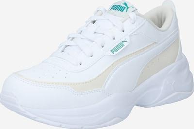 PUMA Baskets basses en beige / bleu / blanc, Vue avec produit