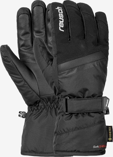 REUSCH Fingerhandschuhe 'Sandor' in schwarz, Produktansicht