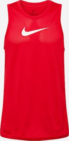 T-Shirt fonctionnel NIKE en rouge
