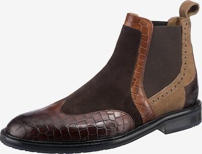MELVIN & HAMILTON Chelsea Boots ' Logan 2 ' in Beige / Brown, Item view