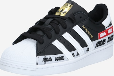 ADIDAS ORIGINALS Sneaker low 'SUPERSTAR' i guld / sort / hvid, Produktvisning