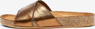 NINE TO FIVE Pantolette 'Clota' in bronze, Produktansicht