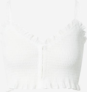 WEEKDAY Top 'Sally Smock Sun' in Weiß