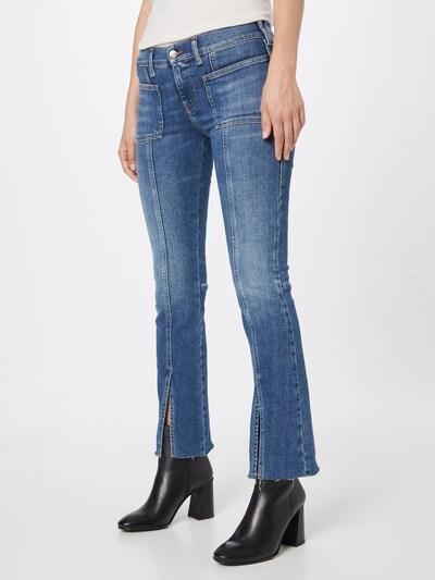 DIESEL Jeans 'SLANDY' in blue denim, Modelansicht
