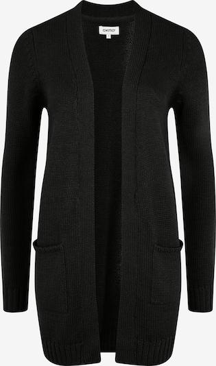 Oxmo Strickjacke 'Paula' in schwarz, Produktansicht