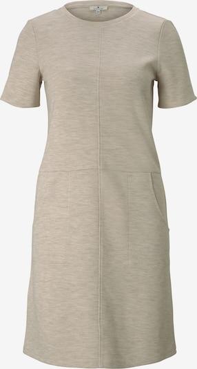 TOM TAILOR Kleid in taupe, Produktansicht
