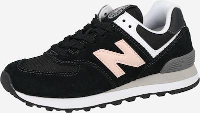 Sportbačiai be auliuko 'WL 574' iš new balance, spalva – pilka / rožių spalva / juoda / balta, Prekių apžvalga