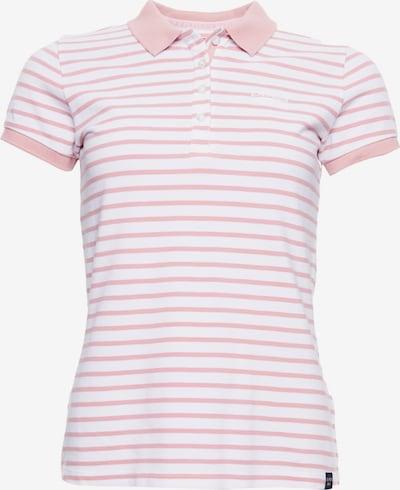 Superdry Shirt in rosa / weiß, Produktansicht