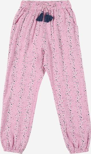STACCATO Pantalon en violet / violet foncé / blanc, Vue avec produit
