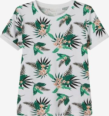 NAME IT T-shirt 'Johan' i vit