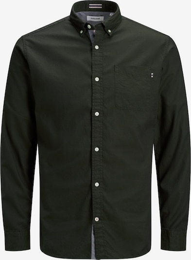 JACK & JONES Hemd 'OXFORD' in dunkelgrün, Produktansicht