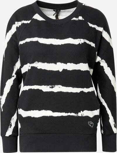 Key Largo Sweatshirt 'WSW START' in schwarz / weiß, Produktansicht
