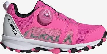 adidas Terrex Wanderschuh 'Boa' in Pink