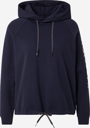 ELEMENT Sportief sweatshirt 'MARTA' in de kleur Blauw / Navy / Wit, Productweergave