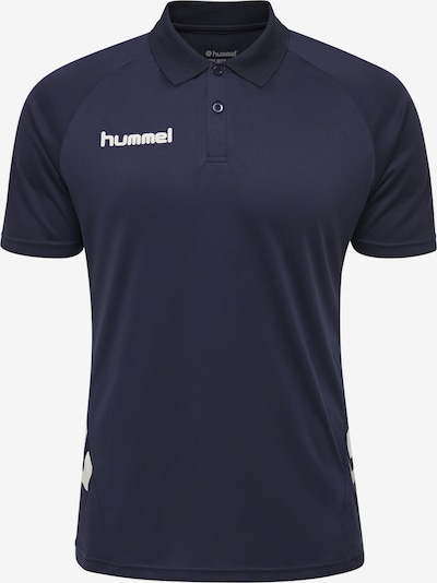 Hummel T-Shirt en marine / blanc, Vue avec produit