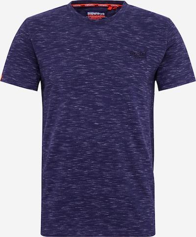 Superdry T-Shirt 'Vintage' in marine: Frontalansicht