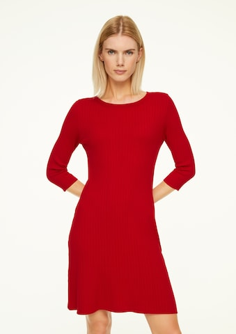 COMMA Knitted dress in Red