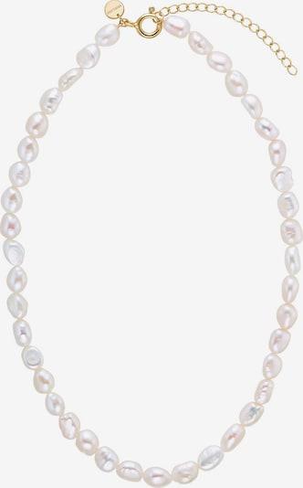 NOELANI Noelani Perlenkette in gold / perlweiß, Produktansicht