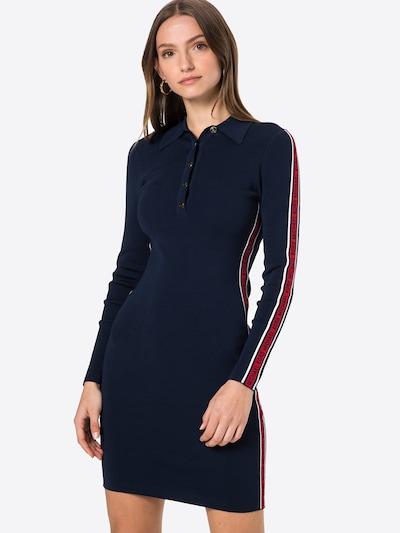 MICHAEL Michael Kors Jurk in de kleur Donkerblauw / Rood / Wit, Modelweergave