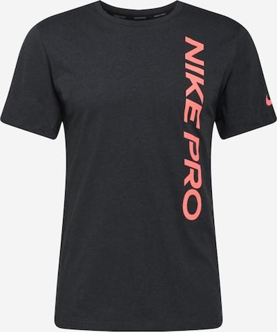 NIKE Funkčné tričko - pastelovo červená / čierna, Produkt
