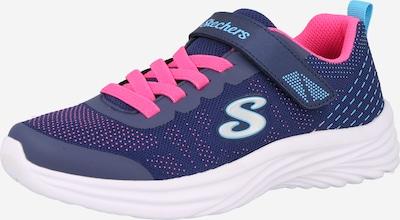 SKECHERS Sneaker 'DREAMY DANCER' in navy / türkis / neonpink / weiß, Produktansicht