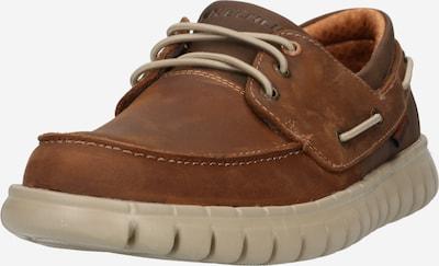 sötét barna SKECHERS Fűzős cipő, Termék nézet