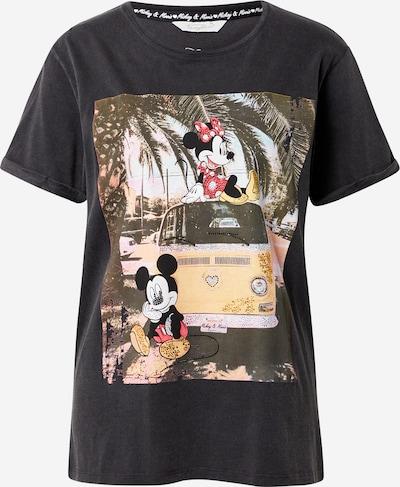 Frogbox Majica 'Mickey and Minnie' u svijetložuta / miks boja / crvena / crna, Pregled proizvoda