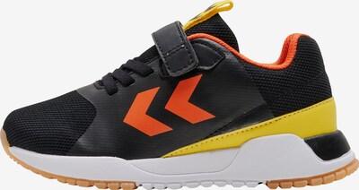 Hummel Sneaker in gelb / orange / schwarz, Produktansicht