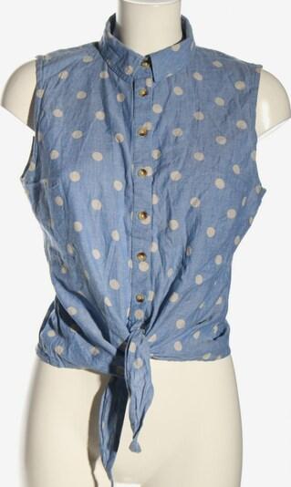 ANISTON ärmellose Bluse in M in blau / weiß, Produktansicht